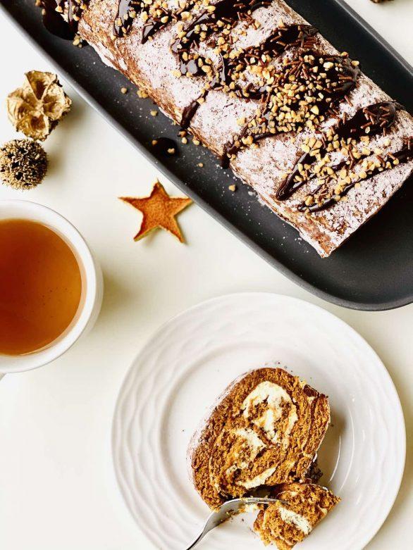 Šventinis medaus torto vyniotinis