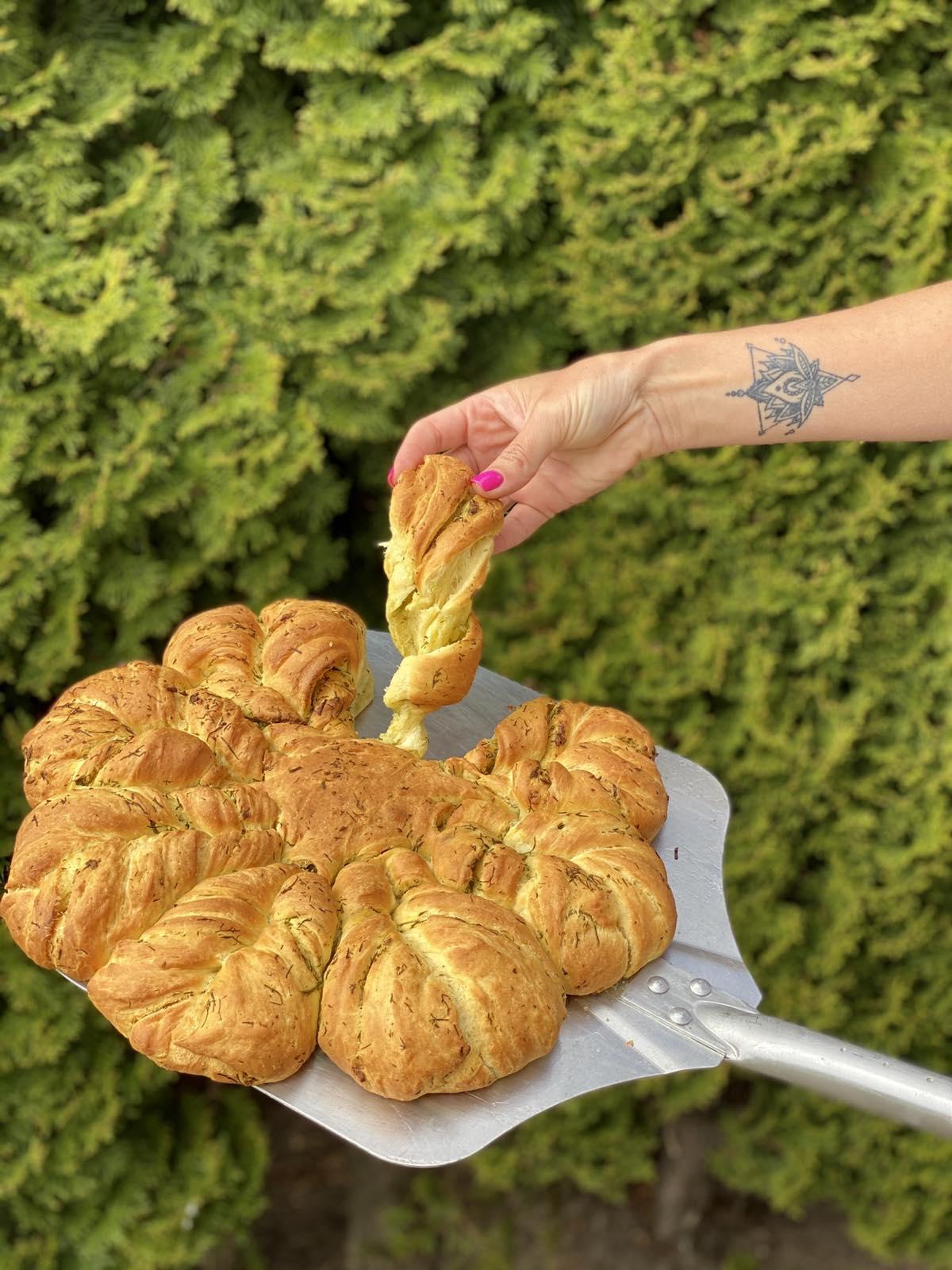 Prieskoninė iškylų duona